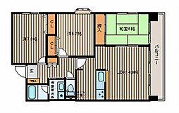 宮城県仙台市泉区八乙女中央3丁目の賃貸マンションの間取り