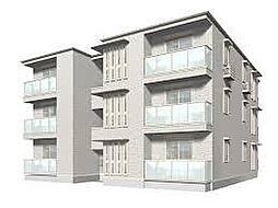 兵庫県神戸市中央区熊内町3丁目の賃貸アパートの外観