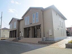 茨城県ひたちなか市西光地3丁目の賃貸アパートの外観