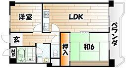 第2東宝ビル[11階]の間取り