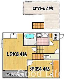 アットイーズ三苫駅前[1階]の間取り