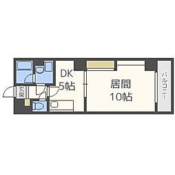 HABITATION[8階]の間取り