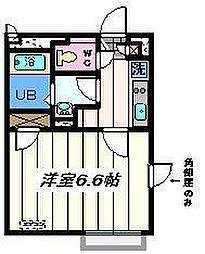 東京都墨田区東向島6丁目の賃貸マンションの間取り