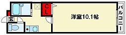 メゾンハクエイ[2階]の間取り