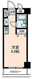 東京都新宿区西五軒町の賃貸マンションの間取り