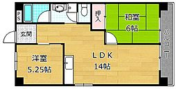 レジデンス松栄II[2階]の間取り