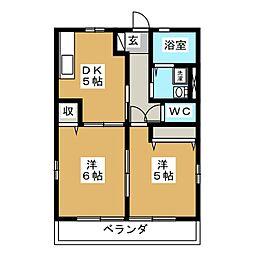 グラビティ[2階]の間取り