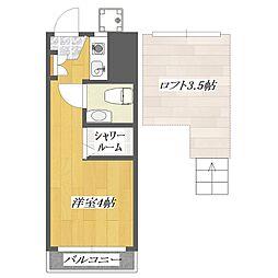 pia3[327号室]の間取り