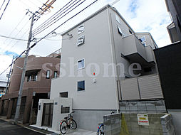 兵庫県神戸市東灘区魚崎中町2丁目の賃貸アパートの外観