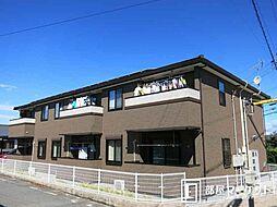 愛知県岡崎市西蔵前町字峠の賃貸アパートの外観