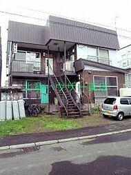 北海道札幌市東区北四十二条東3丁目の賃貸アパートの外観