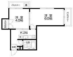 パレ・ドール亀有[2階]の外観