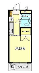神奈川県川崎市麻生区金程1丁目の賃貸マンションの間取り