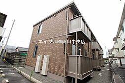 岡山県岡山市中区平井丁目なしの賃貸アパートの外観