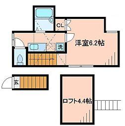 ラヴィータ[2階]の間取り