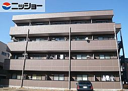 愛知県あま市甚目寺五位田の賃貸マンションの外観