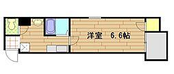 パインハイツ[9階]の間取り