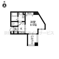 エイペックス京都駅前803[2階]の間取り
