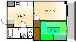 ダイム舟入本町[9階]の間取り