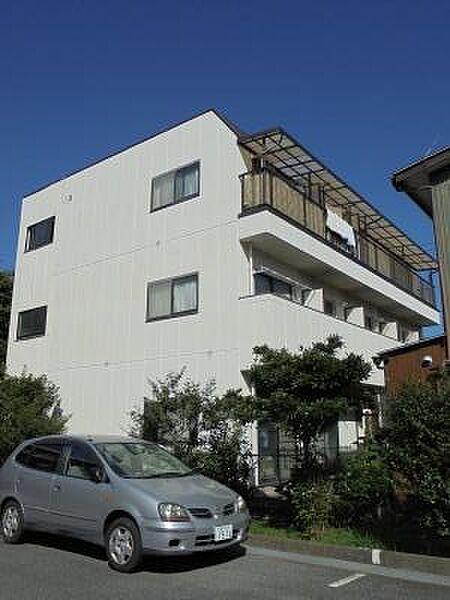 神奈川県川崎市中原区木月祗園町の賃貸マンションの外観