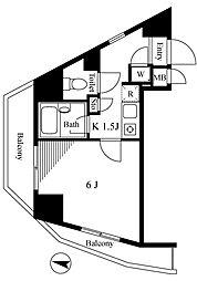 菱和パレス高輪台[11階]の間取り