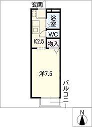 フローレスライフ本郷[2階]の間取り