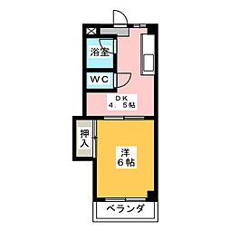 メゾンヤマト[2階]の間取り