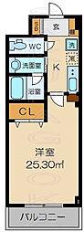 菊亭ハウス[1階]の間取り