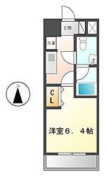 レジディア久屋大通(旧ベレーサ泉)[5階]の間取り