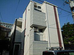 兵庫県尼崎市東園田町8丁目の賃貸アパートの外観