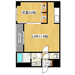 サカイマンション[302号室]の間取り