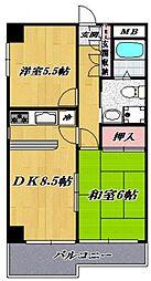 テラス・イシカワ[202号室号室]の間取り