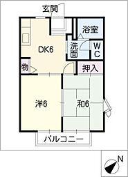 ソシア城下[1階]の間取り