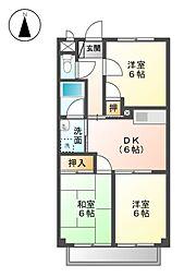 Surplusワキタ[2階]の間取り