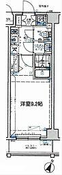 プレスタイル横濱SOUTH[7階]の間取り