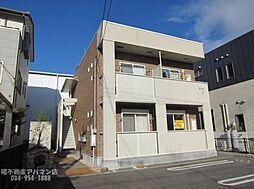 広島県福山市川口町4の賃貸アパートの外観