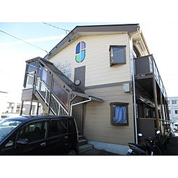 長野県伊那市西町の賃貸アパートの外観