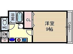 ユニバーサルコート[111号室号室]の間取り