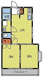 サンマリン[1階]の外観
