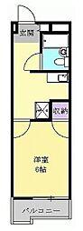 イワタビル[5階]の間取り