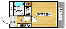 サンライズ泉[3階]の間取り