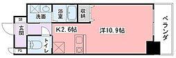 兵庫県姫路市西今宿2の賃貸マンションの間取り