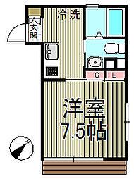 エクセル大船[106号室]の間取り