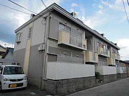 大阪府八尾市萱振町2丁目の賃貸アパートの外観