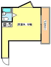 兵庫県明石市大久保町福田2丁目の賃貸マンションの間取り