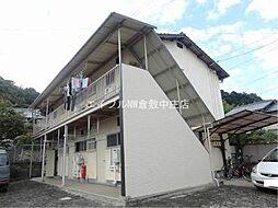 岡山県倉敷市二子の賃貸アパートの外観