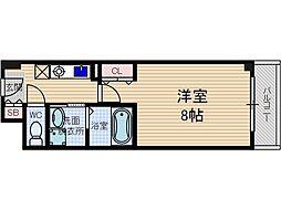 シャンピアコート茨木[8階]の間取り