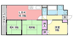ハイメゾン平田[302号室]の間取り