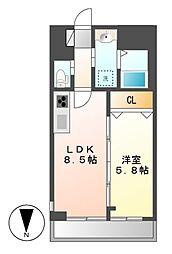 Casa Lucia(カーサルチア)[3階]の間取り