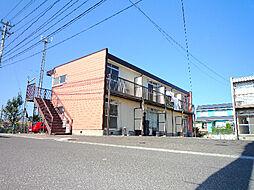 福島県福島市泉字下谷地の賃貸アパートの外観